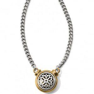 Ferrara 2 Tone Short Necklace by Brighton NWT